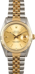 Used Mens Rolex 16013 Datejust