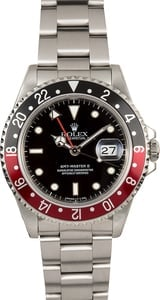 TT Men's Rolex GMT Master II Coke Bezel Model 16710
