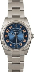 Rolex Air-King 114234 Blue Concentric Dial