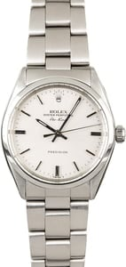 Used Rolex Air-King 5500 Steel Oyster Band