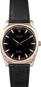 Rolex Cellini 4243 White & Rose Gold