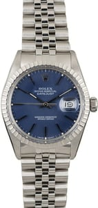 Rolex Datejust 16030 Blue Dial