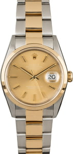 Men's Rolex Datejust 16203 Champagne Dial