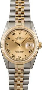 Pre-Owned Rolex Datejust 16233 Roman Dial