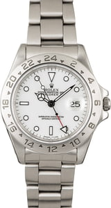 Pre-Owned Rolex Explorer 16570 White Dial