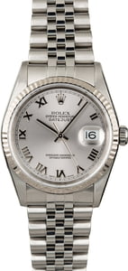 Used Rolex Datejust 16234 Jubilee Band