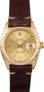 120804 T Rolex 16018 Yellow Gold Datejust.