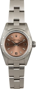 Ladies Rolex Datejust 76030 Salmon Dial