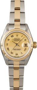 Rolex Datejust 79173 Champagne Decorated Dial