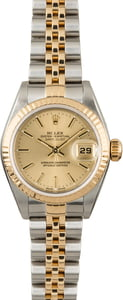 PreOwned Rolex Datejust 79173 Champagne Index Dial