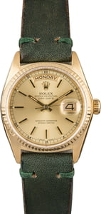 Used Rolex Day-Date 18038 Fluted Bezel