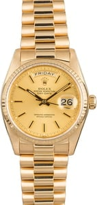 Rolex Day-Date 18038 Champagne Dial President