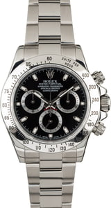 Used Rolex Daytona 116520 Steel Watch