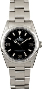 Rolex Explorer 14270 Rare Blackout Dial