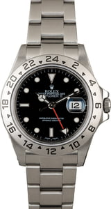 Rolex Explorer 16570 Black Luminous Dial