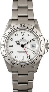 Used Rolex Explorer II Ref 16570 Steel Watch