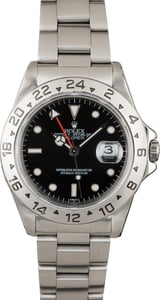 Used Rolex Explorer 16570 Black Luminous Dial