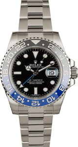 PreOwned Rolex 116710B GMT-Master 'Batman'