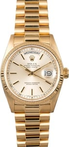 Used Rolex President Gold Day-Date 18038