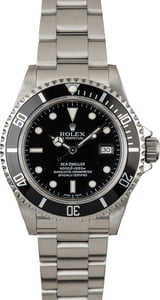 Used Rolex Sea-Dweller 16600 Steel Oyster