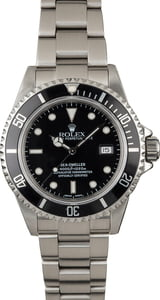 PreOwned Rolex Sea-Dweller 16600 Steel Oyster