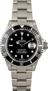 PreOwned Rolex Submariner 16610 Steel Oyster Perpetual