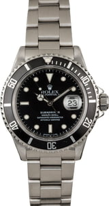 Rolex Submariner 16610 Steel Diving Watch