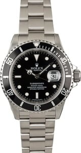 Used Rolex Submariner 16610 Diver's Watch