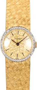 Vintage Gold Eterna Diamond Cocktail Watch