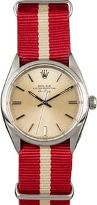 PreOwned Rolex Air-King 5500 Red Nato Strap