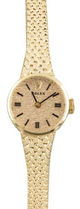 Vintage Rolex Cocktail Watch 14k Yellow Gold