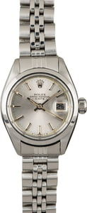 PreOwned Rolex Date 6916 Stainless Steel