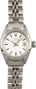 Used Rolex Date 6916 Stainless Steel