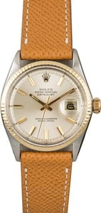 Rolex Datejust 1601 Silver 'Pie Pan' Index Dial