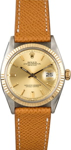 Rolex Datejust 1601 Champagne Dial