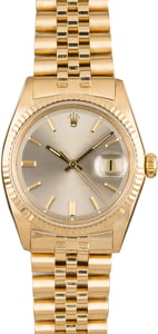 PreOwned Rolex Datejust 1601 Yellow Gold