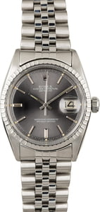 Used Rolex Datejust 1603 Slate 'Pie Pan' Dial