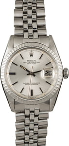 Rolex Datejust 1603 Silver 'Pie Pan' Dial