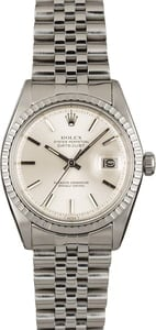Used Rolex Datejust 1603 Silver 'Pie Pan' Dial