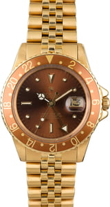Vintage 1974 Rolex GMT-Master 1675 Nipple Dial