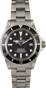 "Vintage Rolex ""Great White"" Sea-Dweller 1665"