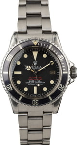 Vintage 1977 Rolex Double Red Sea-Dweller 1665