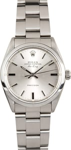 Vintage Rolex Stainless Steel Air-King 5500