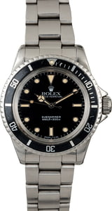 Vintage 1967 Rolex Submariner 5513 Feet First