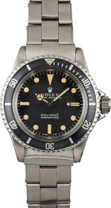 Vintage Rolex Submariner 5513 Circa 1966 Meters First Dial