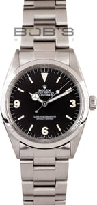 Men's Rolex Oyster Perpetual Vintage Explorer 1016, Pre-Owned