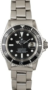 Vintage 1975 Rolex Submariner 1680 Feet First