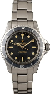Vintage 1963 Rolex Submariner 5513 Meters First