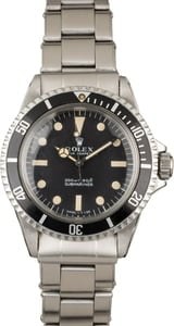 Vintage 1967 Submariner 5513 Meters First Dial