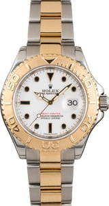 Used Rolex Yacht-Master 16623 White Dial